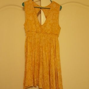 Roxy Yellow Sundress size large